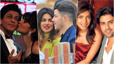 Priyanka Chopra Is Nick Jonas' Girlfriend? Shah Rukh Khan to Harman Baweja, Alleged List of Boyfriends Who Dated Hot Actress!