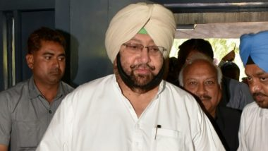 Punjab Chief Minister Captain Amarinder Singh Suggests Death Penalty for First-time Drug Offenders