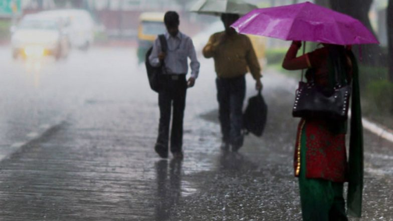 Delhi Rains: Heavy Rainfall Causes Waterlogging, Traffic Snarls in National Capital; More Downpour Predicted