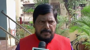 Shiv Sena Open to Mend Fences if BJP Offers Chief Minister's Post For 2 Years: Ramdas Athawale