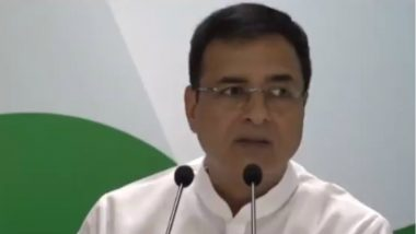 Rajasthan Political Crisis: No Reason for BJP to Cheer, Congress Govt Will Complete Full Term, Says Randeep Surjewala