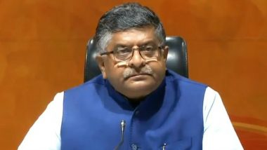 EVM Hackathon in London Was Congress Sponsored Event, Says Ravi Shankar Prasad