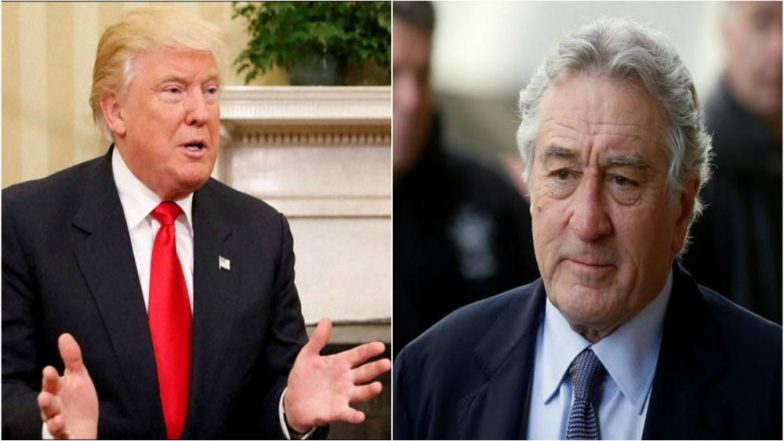 Robert De Niro – Donald Trump Fight Intensifies as a Pipe Bomb Gets Addressed to the Legendary Actor