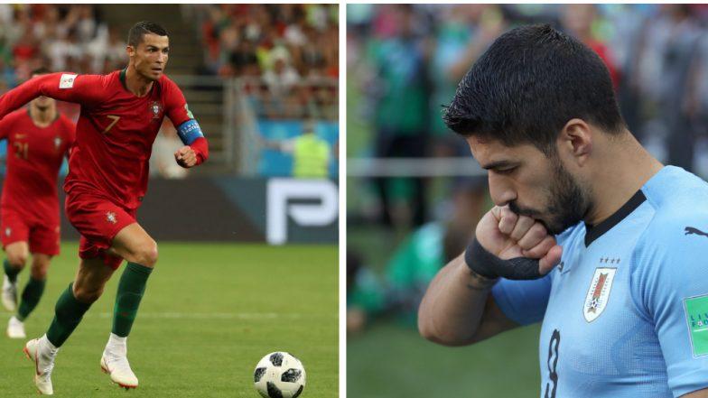2018 FIFA World Cup: Superstars Cristiano Ronaldo and Luis Suarez to Lock Horns in Portugal vs Uruguay Tie