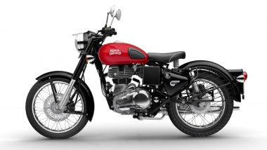 Royal Enfield Classic 350 Redditch Edition Launched With Rear Disc Brake; Priced in India at Rs 1.47 Lakh