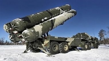 India to Receive Five S-400 Air Defence Systems in 2025: Russia