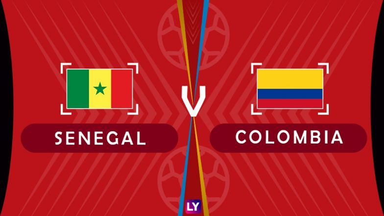 Senegal vs Colombia, Live Streaming of Group H Football Match: Get Telecast & Free Online Stream Details in India for 2018 FIFA World Cup
