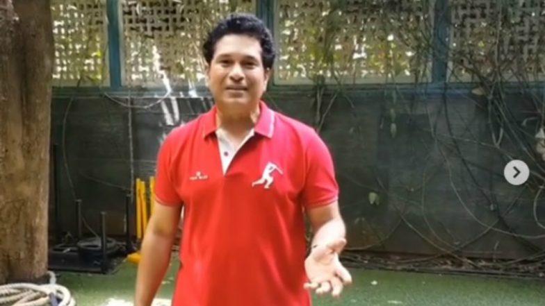 Sachin Tendulkar Introduces #KitUpChallenge, an Extension to Fit India Challenge