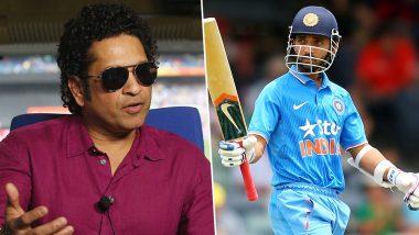 Ajinkya Rahane Turns 30: Sachin Tendulkar Has a Message for the Birthday Boy