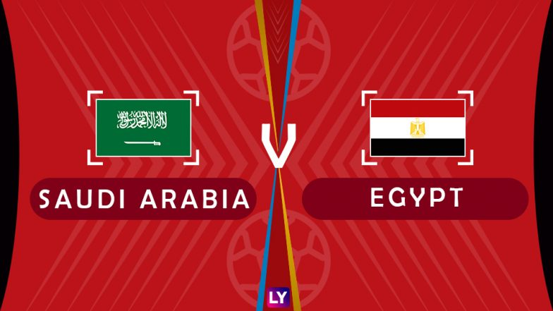 Saudi Arabia vs Egypt, Live Streaming of Group A Football Match: Get Telecast & Free Online Stream Details in India for 2018 FIFA World Cup