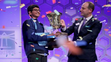 Indian-American Karthik Nemmani Wins 2018 Scripps National Spelling Bee Contest with 'koinonia' Word