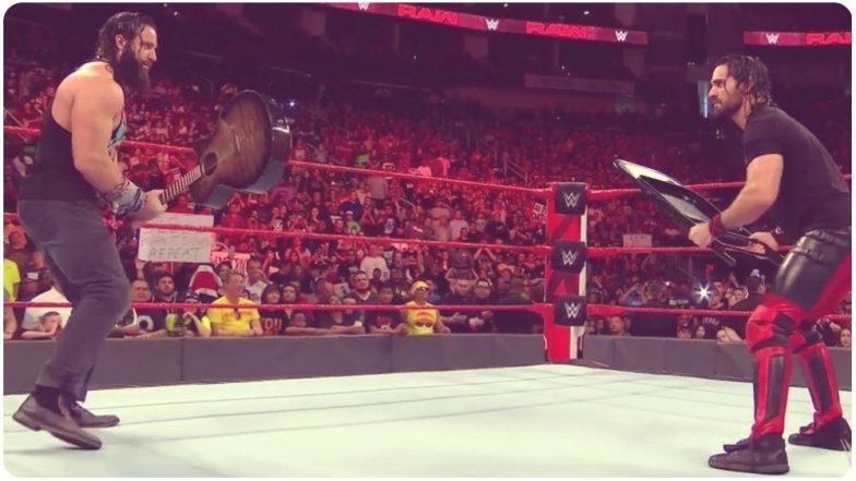 WWE Monday Night RAW Highlights: Elias & Jinder Mahal Defeat Roman Reigns & Seth Rollins; Finn Balor Wins Main Event