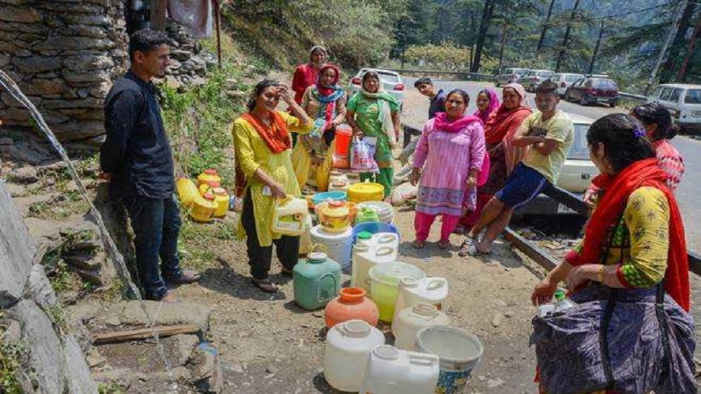 Water Crisis in India: 17 Percent of Cities And Towns Face Water Shortage, Full List of Urban Areas Identified as 'Water Stressed'
