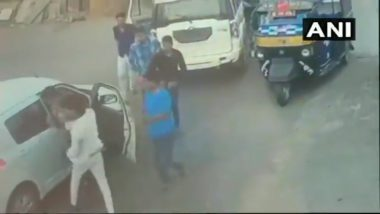 Son of Rajasthan BJP MLA Thrashes Man For Not Letting His Vehicle Pass Through, Watch Video of the Incident
