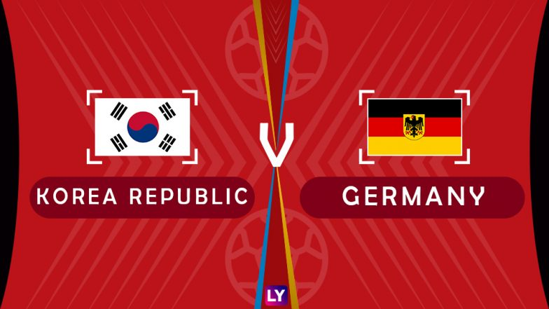 Germany vs South Korea Live Streaming of Group F Football Match: Get Telecast & Free Online Stream Details in India for 2018 FIFA World Cup