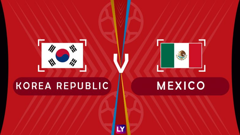 South Korea vs Mexico Live Streaming of Group F Football Match: Get Telecast & Free Online Stream Details in India for 2018 FIFA World Cup