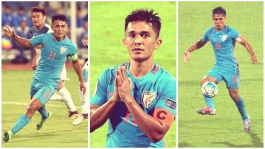 Sunil Chhetri Set to Play 100th Match: Watch Videos of World's Third Best Active Football Player in Terms of Goals Scored