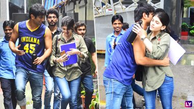 Sushant Singh Rajput and Sanjana Sanghi Look Adorable As They Start Prepping Up for 'The Fault in Our Stars Remake' (PICS)