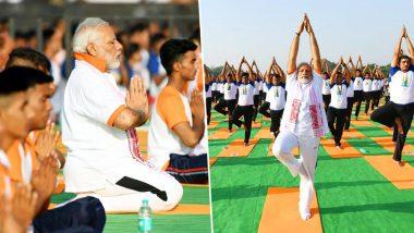 International Day of Yoga 2018: PM Narendra Modi Performs Asanas in Dehradun