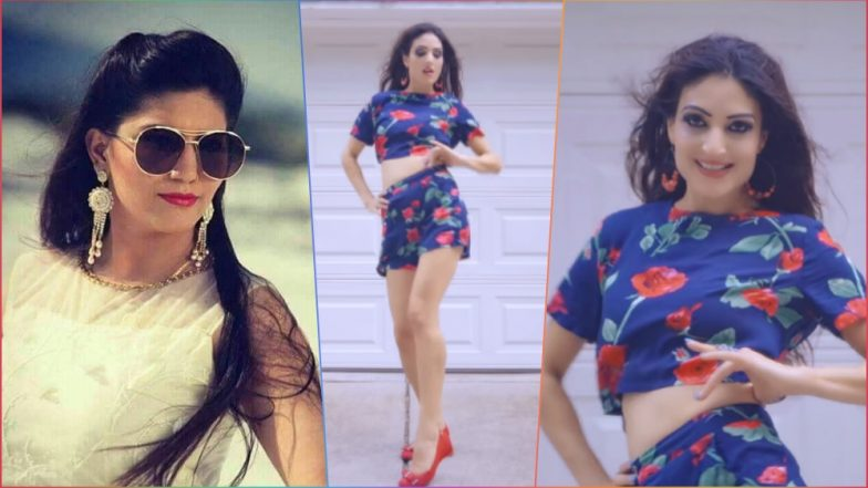 Teri Aakhya Ka Yo Kajal Video by Deep Brar: Dance on Sapna Choudhary's Popular Song by YouTuber Is NOT Hot!