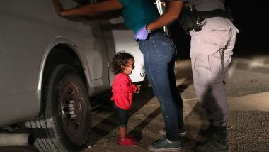 Will This Girl Be the Face of U.S. President Donald Trump's Policy on Immigration?