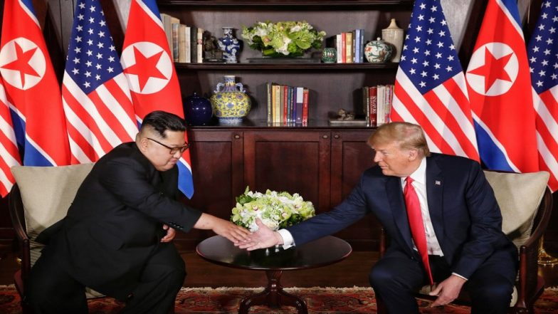 Singapore Summit: North Korea Commits to 'Complete Denuclearisation': Read Full Text of Joint Statement Issued by Kim Jong-un & Donald Trump