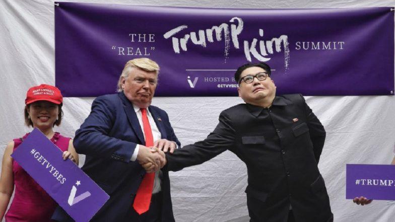 Kim Jong-un, Donald Trump Impersonators in Singapore Together Ahead of Historic Summit: View Pics
