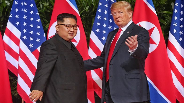 Donald Trump, Kim Jong-un Hold One-on-One Meeting at Singapore Summit, Vow to Resolve All Disputes