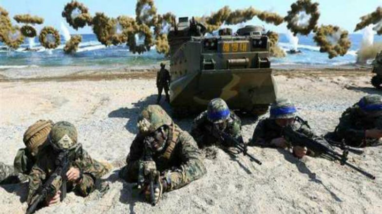 South Korea Hints at Suspending Joint Military Drills with US