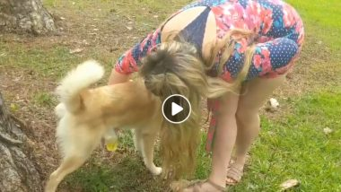 Woman Drinks Her Dog's Urine; Claims That It Cleared Her Acne (Watch Video)