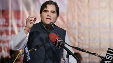 Varun Gandhi Invokes 'Bharat Mata' in Campaign For Mother Maneka; Calls SP-BSP Leaders 'Pakistanis'