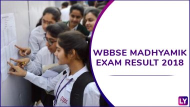 West Bengal Madhyamik Results 2018 Live News Updates: Sanjeebani Debnath Tops, List of Toppers | WBBSE Declared Class 10 Exam Results at wbresults.nic.in