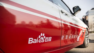 Baidu Tests Two Driverless Cars in China