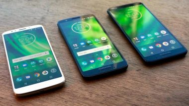 Moto G6 & Moto G6 Play Launching Today in India; Watch the Live Streaming & Online Telecast of Moto G6 Launch Event