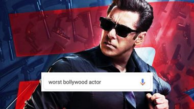 Worst Bollywood Actor is Salman Khan Says Google Search Results, is Race 3 to be Blamed?