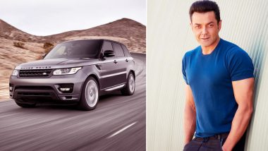 Bobby Deol Gifts Himself a Brand New Range Rover Sport Worth Rs 1.2 Crore: View Pics
