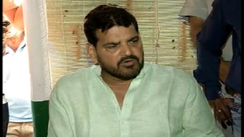 'Only' PM Modi, Yogi Adityanath Non-Corrupt in Our Party, Not Sure About Others: BJP MP Brij Bhushan Sharan