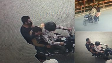Shujaat Bukhari Murder: Police Release CCTV Footage of Three Men on Motorcycle Suspected to Have Killed Rising Kashmir Editor