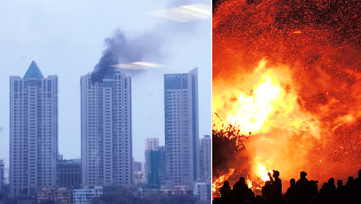 Mumbai Fire: 29,140 Fire Mishaps Reported in 6 Years in Maximum City, Reveals RTI