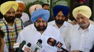 Kartarpur Corridor: Punjab CM Amarinder Singh to Lead All-Party Delegation to PM Modi Seeking Waiver of Passport for Pilgrims