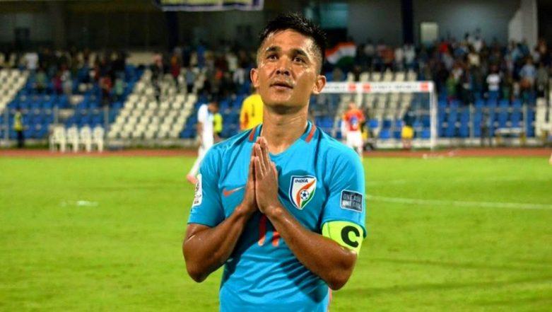 Sunil Chhetri Becomes Second Highest International Goal-Scorer After Cristiano Ronaldo; Beats Lionel Messi