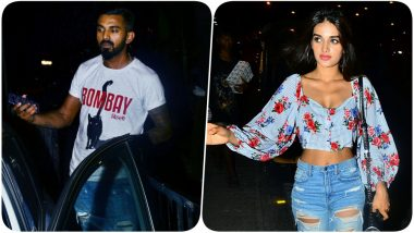 KL Rahul & Nidhhi Agerwal Clicked Together: KXIP Cricketer Denies Dating the Actress