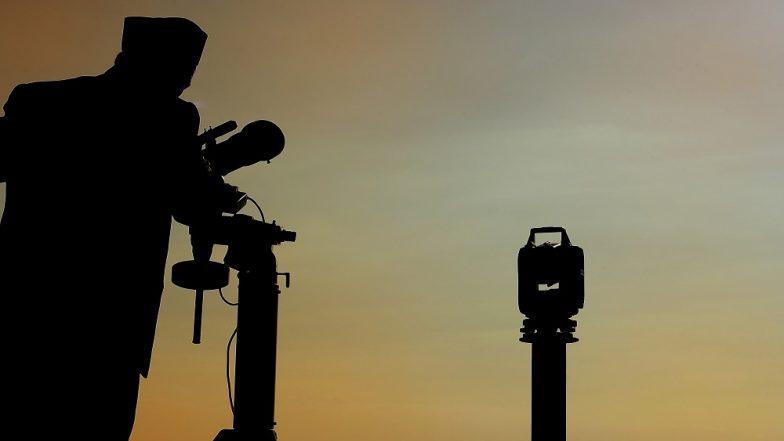 Eid al-Fitr Moon Sighting 2018 in Saudi Arabia Live Streaming: Watch Live News Updates on Makkah TV Online of Hilal Crescent Sighting in KSA