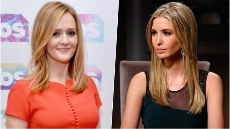 Samantha Bee Called Ivanka 'Feckless C**t' for Posting a Picture with Her Son; President Donald Trump Asks to Fire Her