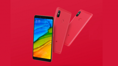 Xiaomi Redmi Note 5 Flame Red Color Variant Launched in China; Price, Features, Specifications