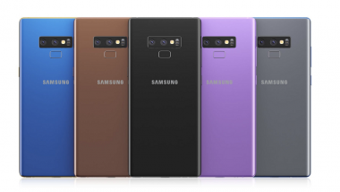 Samsung Galaxy Note 9 Specifications & Design Details Leaked Ahead of Launch