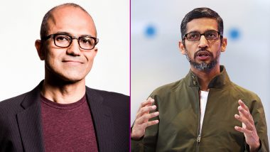 List of Top CEOs 2018: Microsoft's Satya Nadella And Google's Sundar Pichai Ranks Among Top Ten in Comparably's Survey