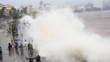 High Tide Timing in Mumbai Today: Wave Measuring 4.51 Metres Expected at 12:47 PM Today,
