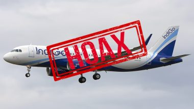 IndiGo Bomb Threat Call for Jaipur-Mumbai 6E 218 Flight is a HOAX!