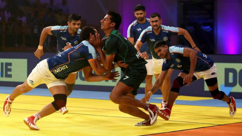 Image result for India beat Pakistan by 41-17, reached semi finals in Kabaddi